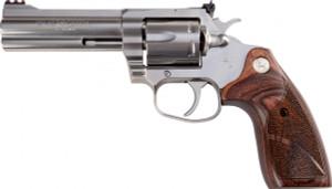 """Colt Mfg- KCOBRASB4TS King Cobra Target 357 Mag 4.25"""" 6 Round Altamont Wood Grip*"""