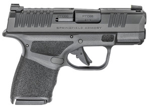 "Springfield Armory Hellcat 9mm Luger 3"" 11+1 & 13+1 Black Melonite, Adaptive Texture Grip"