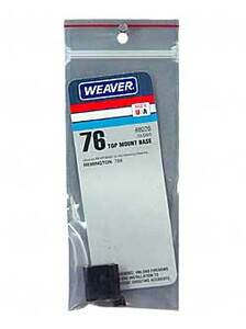 WEAVER #76 REM 788 REAR BASE