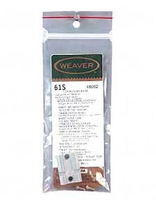 WEAVER #61S SAV 110/111 REAR SILVER