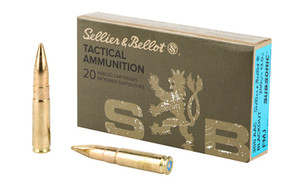 S&B 300BLK 200GR FMJ SUBSONIC20/1000