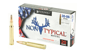 FED NON TYPICAL 30-06 SPR 180GR SP