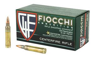 FIOCCHI 223REM 55GR FMJBT 50/1000