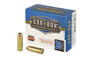 CORBON 38SUPER+P 125GR JHP 20/500