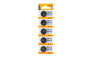 CTC CR2032 BATTERY- 5 PK