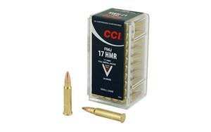 CCI 17HMR 20GR FMJ 50/2000