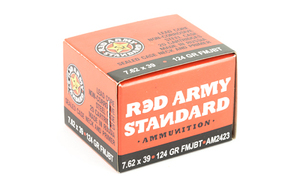 CENT ARMS 7.62X39 124GR FMJ 20/1000