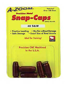 AZOOM SNAP CAPS 40S&W 5/PK