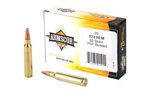 ARMSCOR 223REM 62GR PSP BOND 20/1000