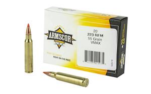 ARMSCOR 223REM 55GR VMAX 20/1000