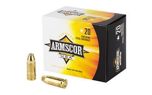ARMSCOR 9MM 124GR JHP 20/500