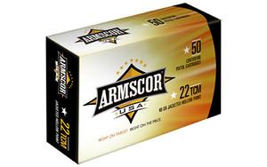 ARMSCOR 22TCM 40GR JHP 50/1000