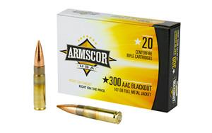 ARMSCOR 300BLK 147GR FMJ 20/200