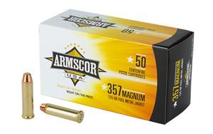 ARMSCOR 357MAG 125GR FMJ 50/1000