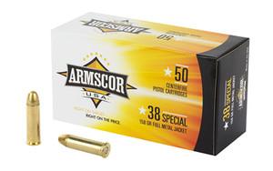 ARMSCOR 38SPL 158GR FMJ 50/1000