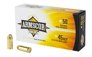 ARMSCOR 45ACP 230GR FMJ 50/1000