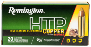 Remington Ammunition HTP450B1 HTP Copper  450 Bushmaster 250 gr Barnes TTSX BT 20 Bx/ 10 Cs