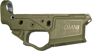 ATI OMNI HYBRID AR15 STRIPPED POLYMER LOWER RECEIVER GREEN 1938