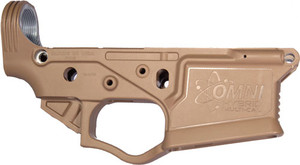 ATI OMNI HYBRID AR15 STRIPPED POLYMER LOWER RECEIVER FDE 3018