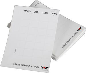 WARNE SKYLINE PRECISION DATA CARD LABEL REFILLS 50 PACK