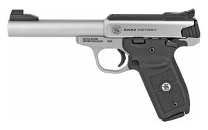 S&W VICTORY TRGT 22LR 10RD 5.5 STS