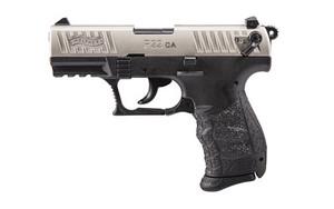 WAL P22 22LR 3.4 NICKEL 1-10RD CA