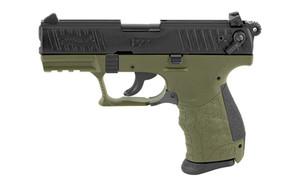 WAL P22Q 22LR 3.42 MLTRY GRN 10RD