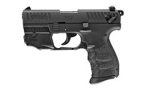 WAL P22Q 22LR 3.4 BLK W/LASER 10RD