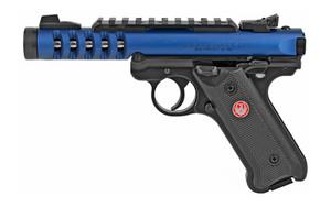RUGER MK IV LITE 22LR 4.4 BLUE 10RD