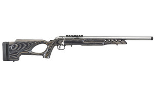 RUGER AMERICAN 22LR 18 SS 10RD TH