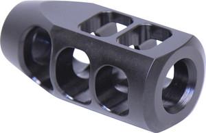 GUNTEC AR15 GEN 2 COMPENSATOR 9MM/7.62X39 1/2X36 BLACK