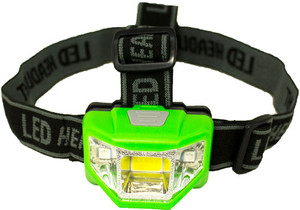 PROMIER 200 LUMEN HEADLAMP 4 MODE GREEN BODY/WHITE LIGHT