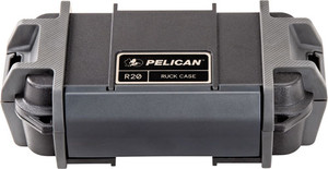 PELICAN RUCK CASE MEDIUM R20 W/DIVIDER BLK ID 7.1X3.4X2