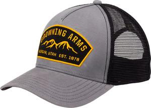 BG CAP RANGER LOGO GRAY W/BUCK MARK LOGO ADJUSTABLE