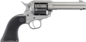 RUGER WRANGLER .22LR 4.62 FS 6-SH SILVER SYNTHETIC 2126