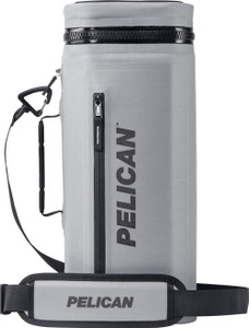 PELICAN SOFT COOLER SLING STYL COMPRESSION MOLDED GREY