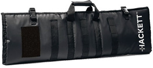 HACKETT RIFLE BURRITO 46 CASE /SHOOTING MAT BLACK