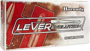 HORNADY AMMO LEVEREVOLUTION 7-30 WATERS 120GR FTX 20-PACK