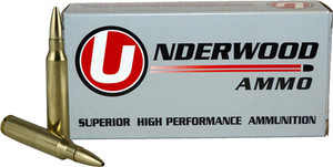 UNDERWOOD AMMO .308 WIN 175GR. CONTROLLED CHAOS 20-PACK