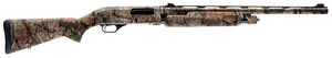Winchester Guns -512307690 SXP Turkey Hunter Pump 20 Gauge 24 4+1 3 Fixed w/Textured Gripping Panels Stock Aluminum Alloy Receiver with overall Mossy Oak Break-Up Country  Finish