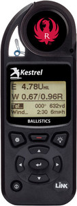 KESTREL 5700 RUGER BALLISTICS WEATHER METER WITH LINK BLACK