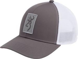 BG CAP BEACON LOGO GRAY W/ RECTANGLE PATCH ADJUSTABLE
