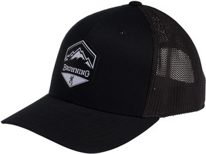 BG CAP MOUNTAIN BUCK LOGO BLACK W/PATCH BM LOGO ADJSTBLE