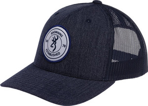 BG CAP SCOUT LOGO NAVY BLUE W/CIRCLE PATCH LOGO ADJUSTABLE