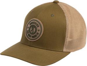 BG CAP DUSTED LOGO LODEN W/ CIRCLE PATCH LARGE/XL FLEX FIT