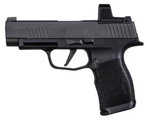 "Sig Sauer -365XL9BXR3RXZ P365 XL 9mm Luger 3.70"" 12+1 Black Black Nitron Stainless Steel Black Polymer Grip RomeoZero"