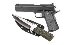 MR DE 1911 10MM 5 BLK FS W/KNIFE