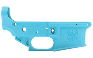 FMK AR15 POLYMER LOWER RECEIVER BLUE