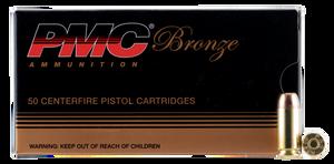 PMC 40D -Bronze Handgun 40 S&W 165 GR Full Metal Jacket (FMJ) 50 Bx/ 20 Cs