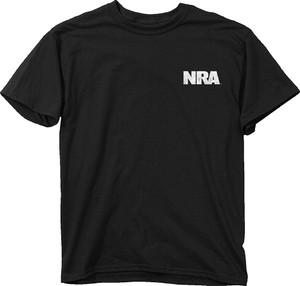 BUCK WEAR T-SHIRT NRA OLD NO.2 BLACK LARGE